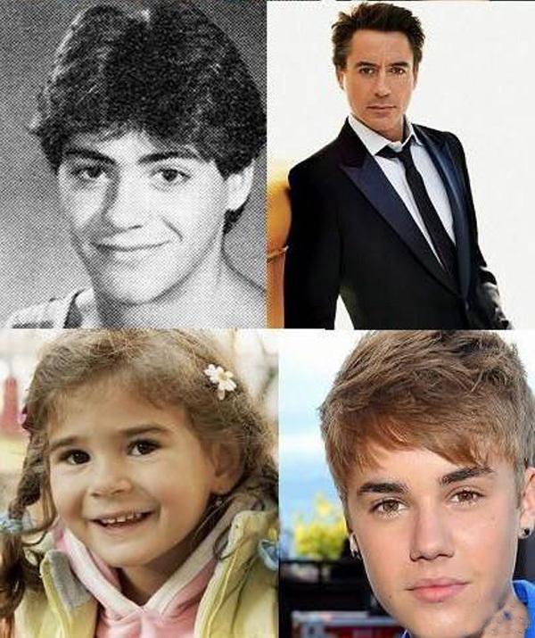 Голливудские звезды в молодости