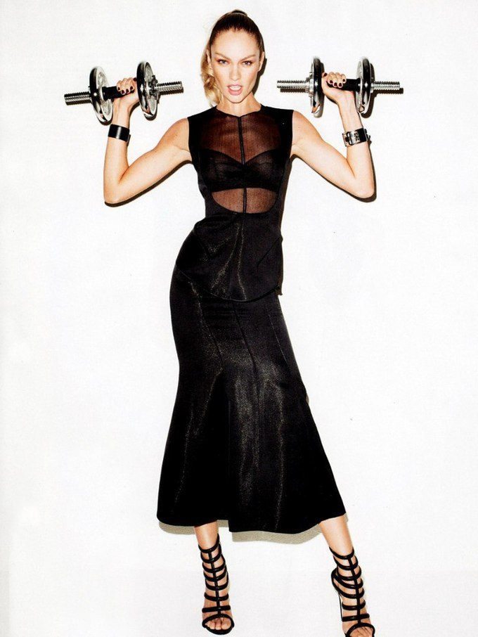 Кендіс Свейнпол для Harper's Bazaar US