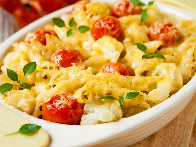 Рецепты вторых блюд, Запеканка из макарон