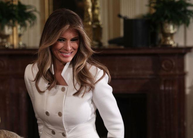 Мелания Трамп больше не носит мех