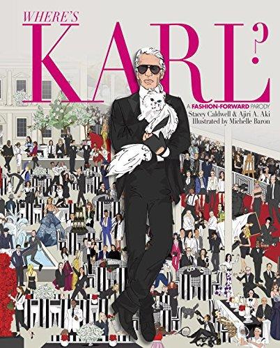 where's Karl - книга о лагерфельде