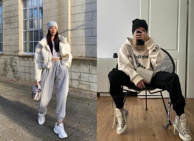 Модные повседневные наряды в спортивном стиле
