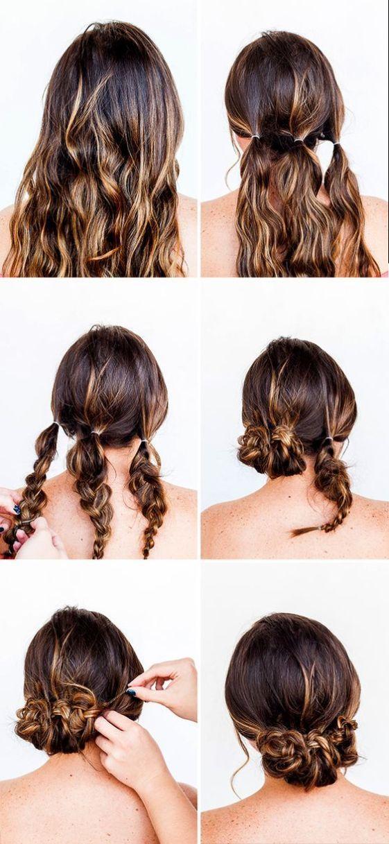 Прически с косами пошагово