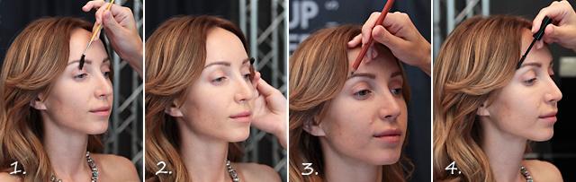 Дневной макияж под цвет волос