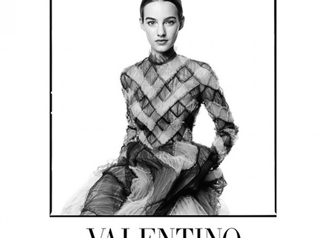 Valentino рекламна кампанія
