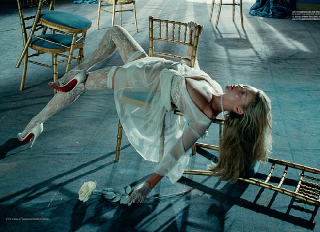 Кейт Мосс для Vogue Italia