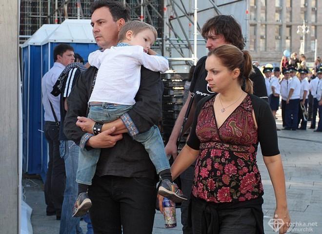 Жена Харчишина беременна