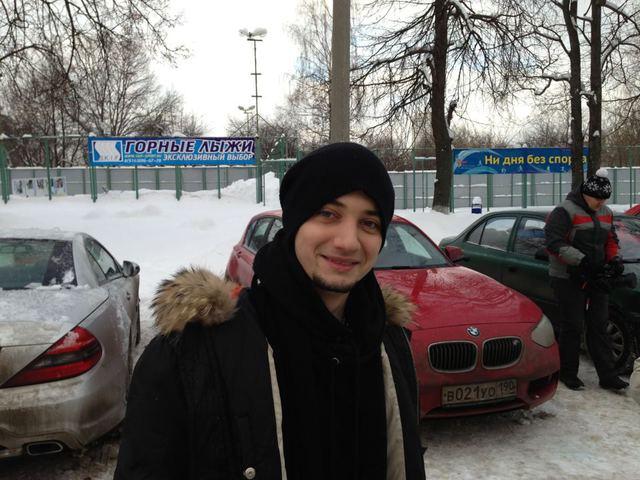 Стас Шурінс в Москві