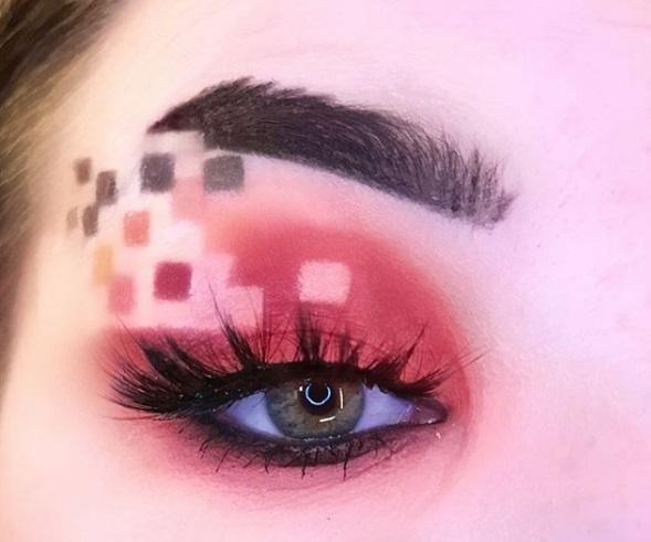 Піксельний макіяж