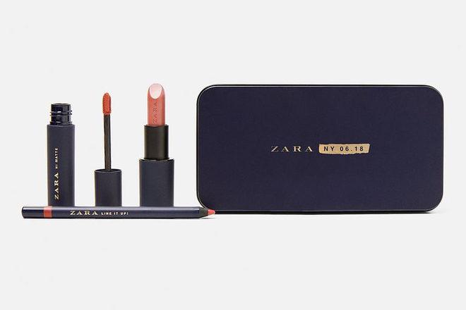 С дебютом: Zara выпустила коллекцию декоративной косметики