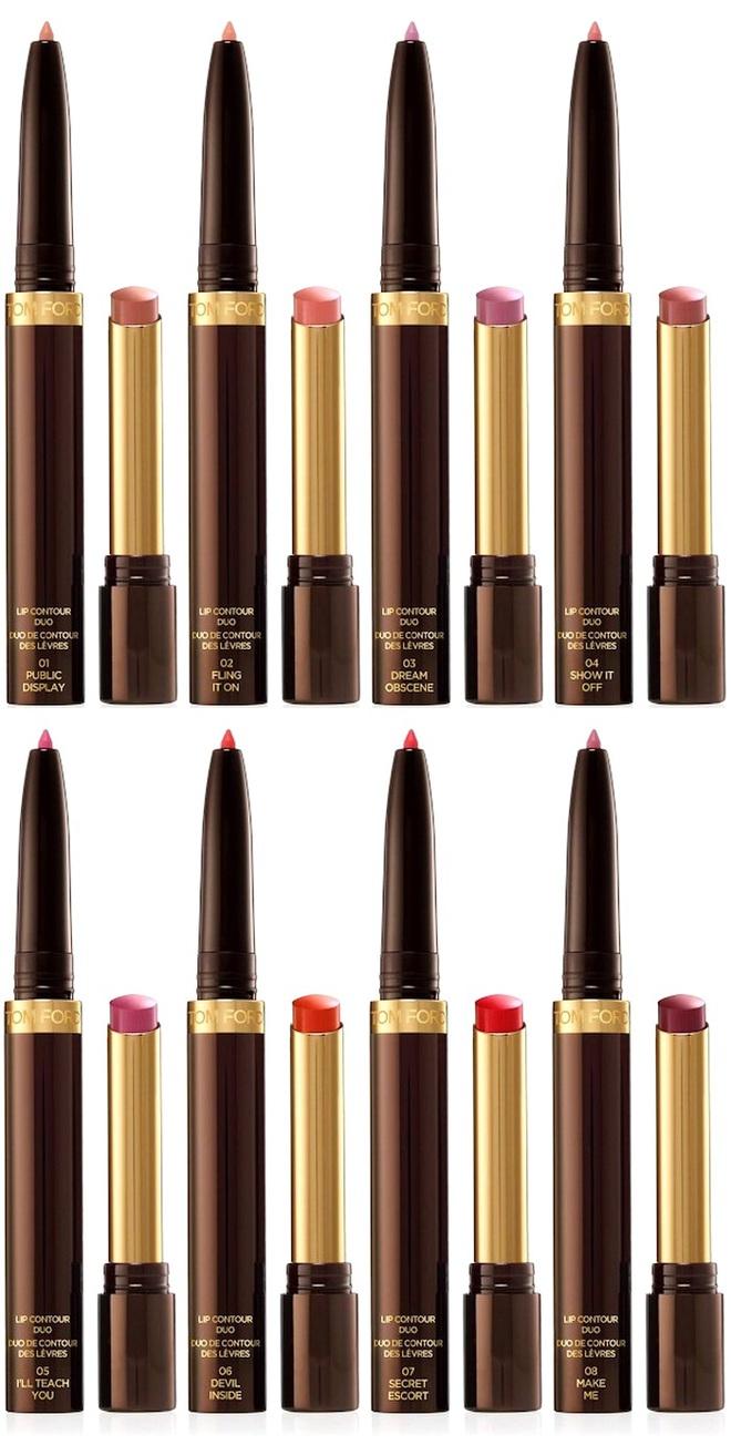 Новинки макияжа для губ и глаз Tom Ford Makeup Collection Fall 2016