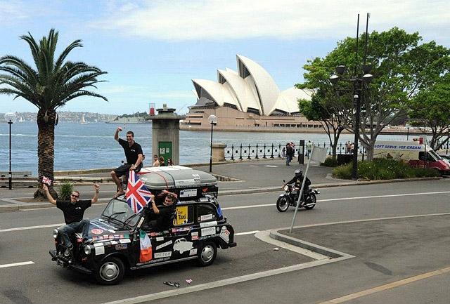 Кругосветное путешествие: Кругосветное путешествие на такси
