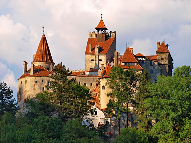 Где встретить Новый год 2013: Замок Дракулы - Трансильвания