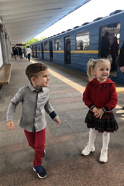 Дети Слави Каминской