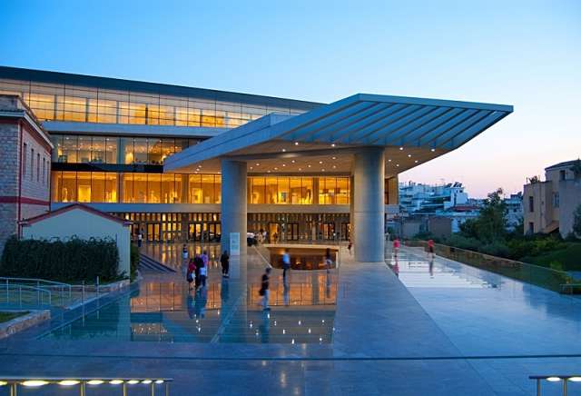 Цікаві місця Афін: Музей Акрополя
