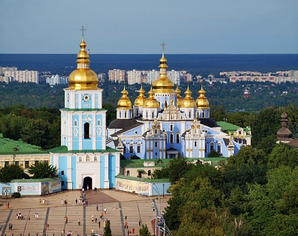 Церкви Украины: Михайловский Златоверхий монастырь (Киев)