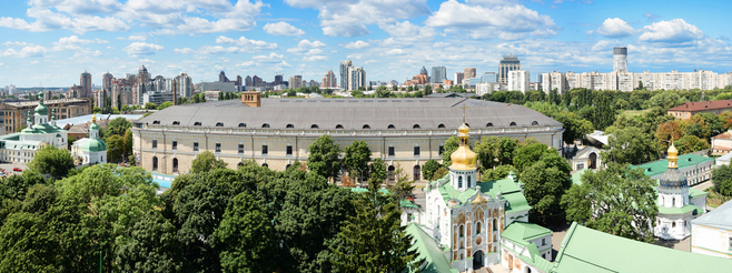 Самые необычные здания Киева