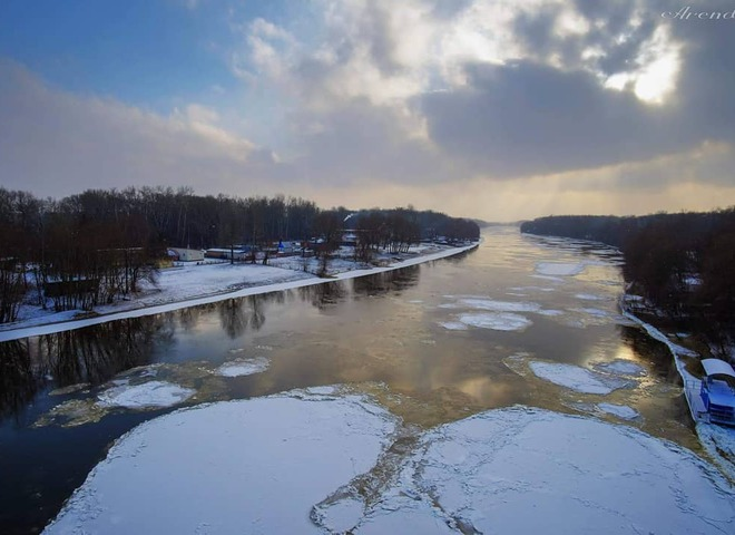 Зима прийшла: снігові пейзажі українських міст