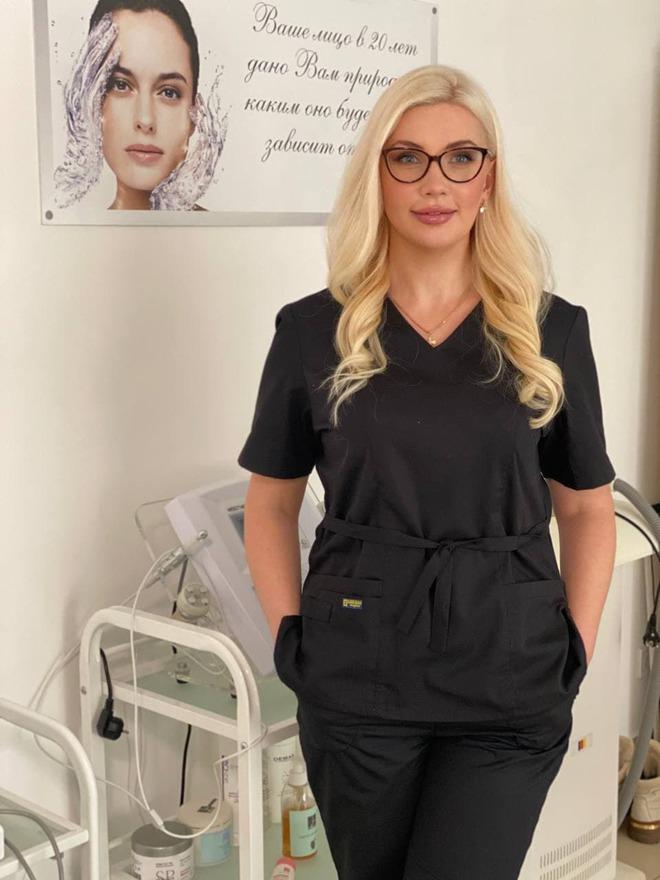 Дипломированный дерматолог-косметолог Елизавета Белоус
