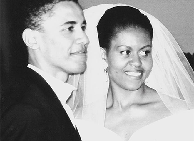 Мішель Обама і Барак Обама