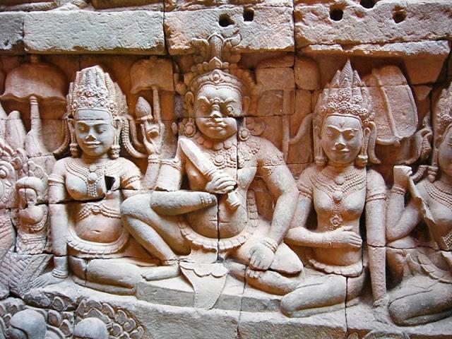 Ангкор за один день: терраса прокаженного короля