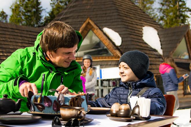 Дмитрий Комаров исполнил мечту ребенка