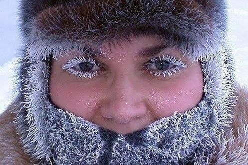 Утренний макияж зимой
