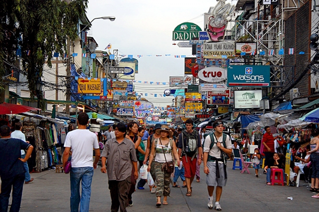 Достопримечательности Бангкока: улица Као Сан