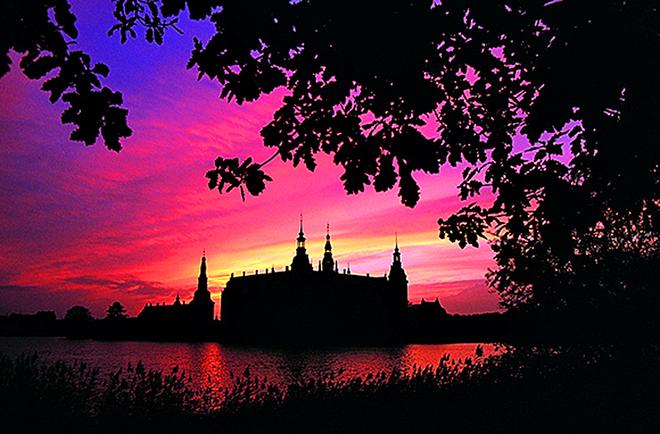 Закаты солнца: Hillerod, Дания