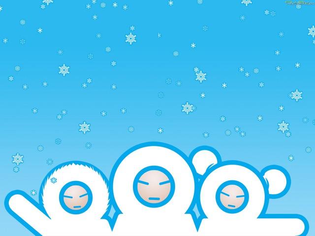 С Новым годом от эскимосиков