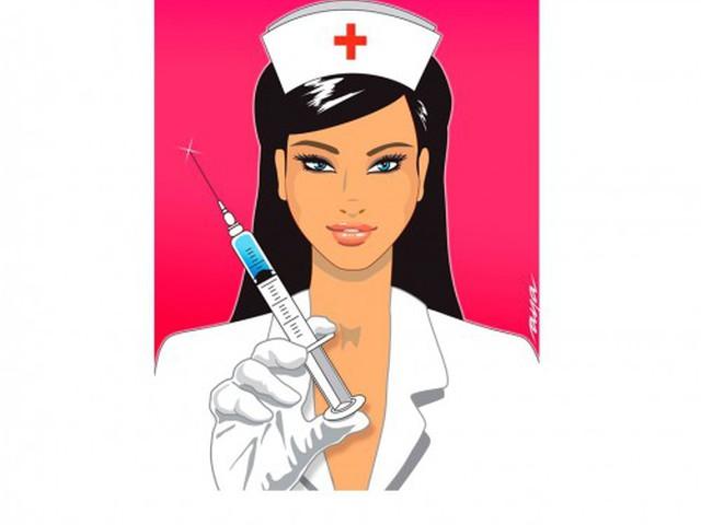 Прикольная картинка про медсестру