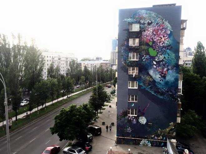 Прекрасне поруч: 25 найкрасивіших і найпопулярніших муралів в Києві