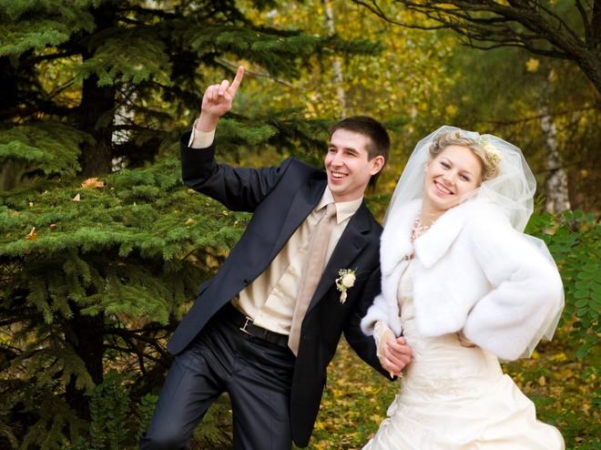 Весілля восени - це завжди романтично