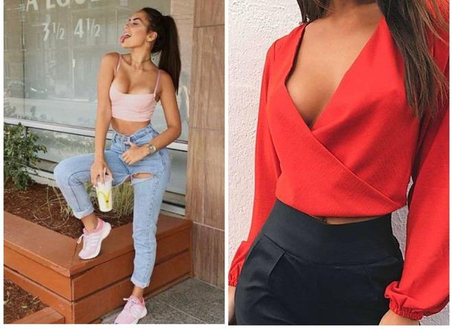 Что носить девушкам с большой грудью