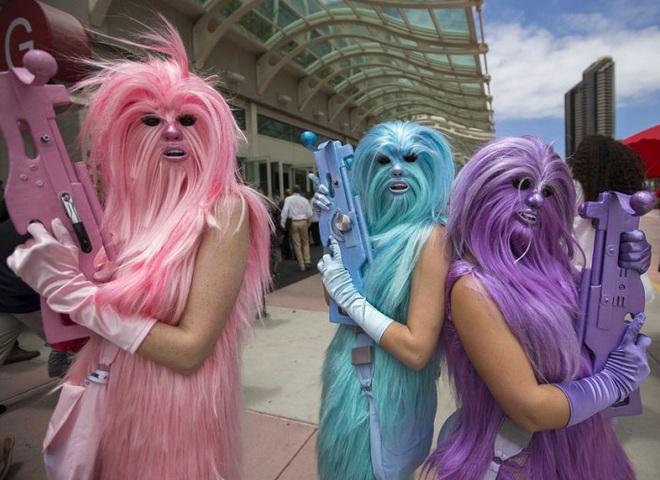 Вечеринка Звездные войны