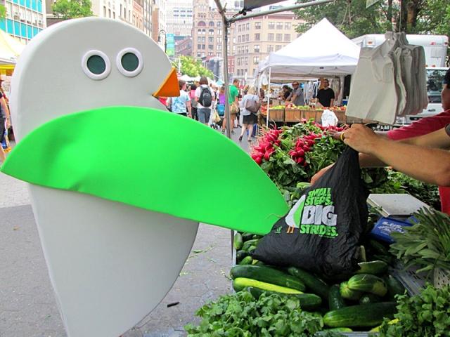Топ 5 уличных рынков: Рынок «Union Square Greenmarket» - США