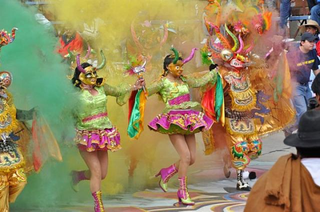 Фестивали февраля: Карнавал Оруро - Боливия