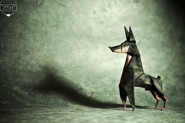 Шедевры искусства оригами