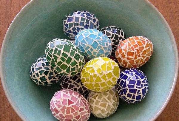 Креативные яйца на Пасху