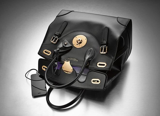 Сумка Ricky Bag Ralph Lauren с зарядкой для телефона
