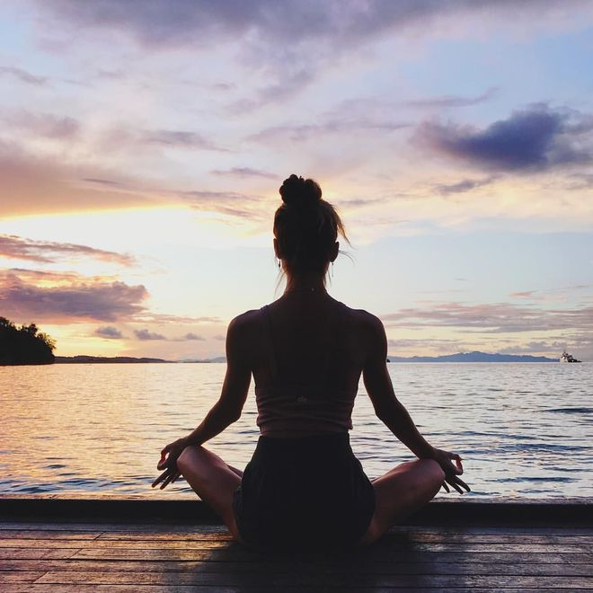 Дыхание, медитация