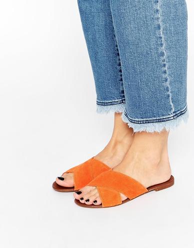 Взуття весна-літо 2016: сандалі без задників