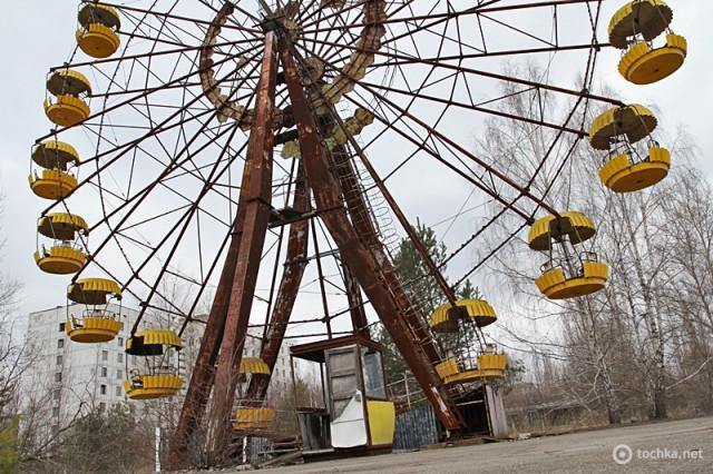 Самые грязные города мира. Чернобыль. Украина