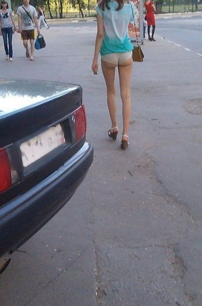 Уличная мода. Трэш-образы