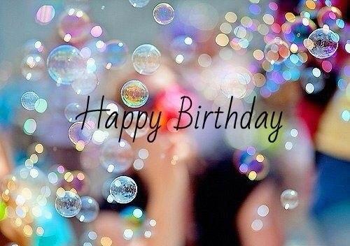 Волшебного Дня рождения!