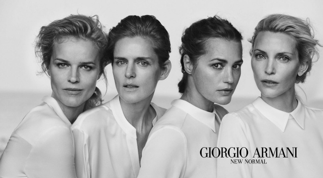 "Giorgio Armani ""New Normal"""