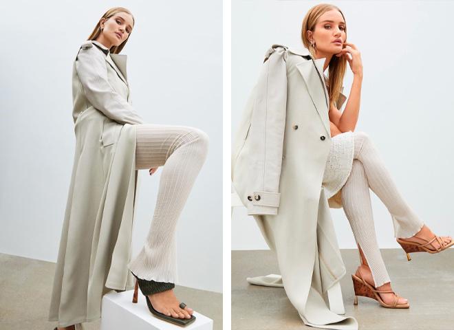 Супермодель Рози Хантингтон-Уайтли выпустила первую коллекцию женской обуви весна-лето 2021