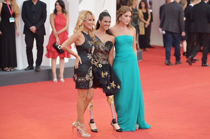Джузеппіна Версаче на відкритті Венеційського кінофестивалю 2019