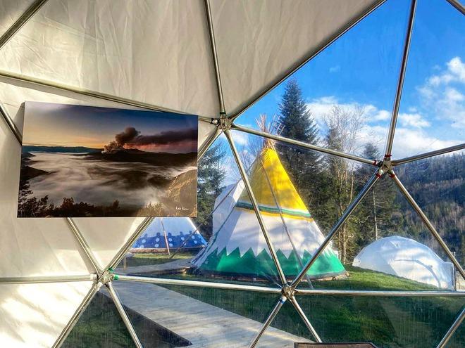 відпочинок у палатці