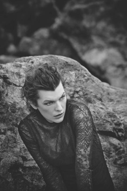 Милла Йовович для Harper's Bazaar Spain